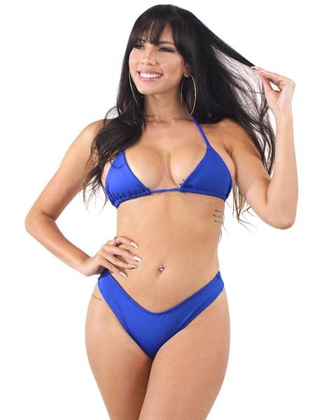 Biquini Alcinha De Amarrar Azul REF: BK78