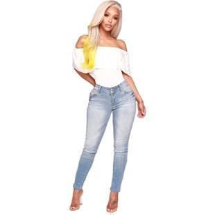 Body Feminino com Babado Ombro a Ombro REF: VRP250