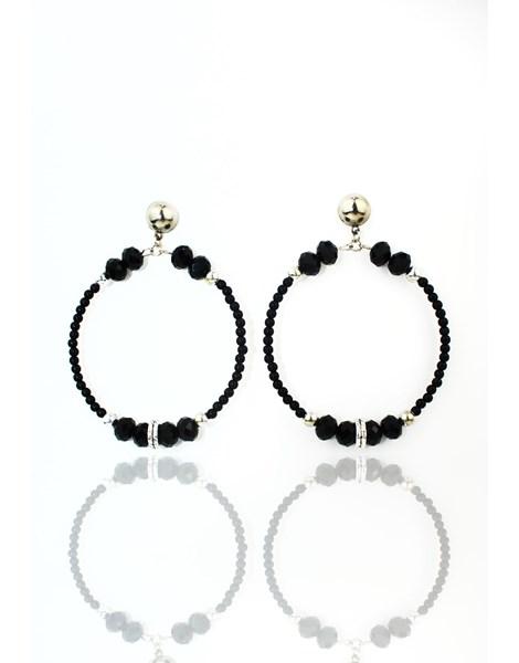 Brinco Feminino Luxo Black Basic REF: MLP18