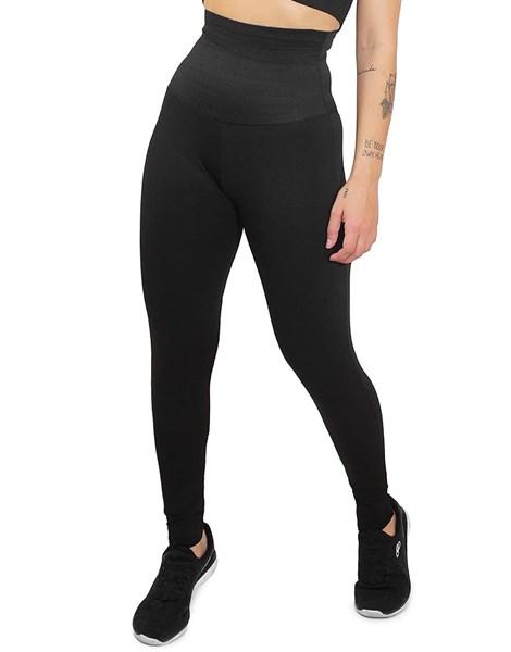 Calça Legging Lisa com Cinta Modeladora Embutida Fit4Life REF: LC15