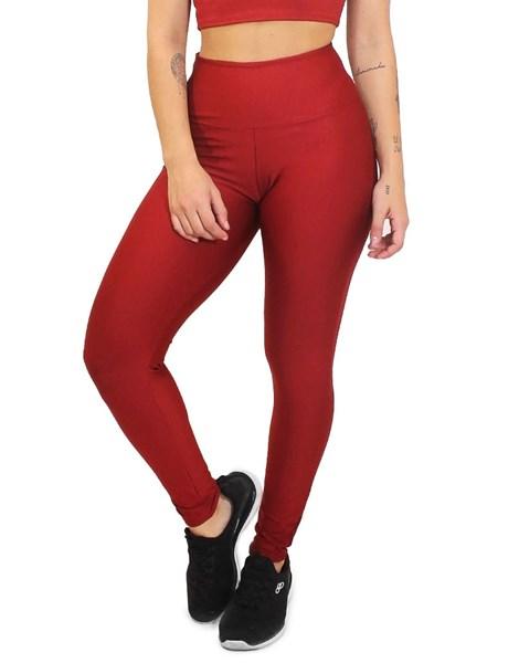 Calça Legging Lisa Vermelha REF: LC4
