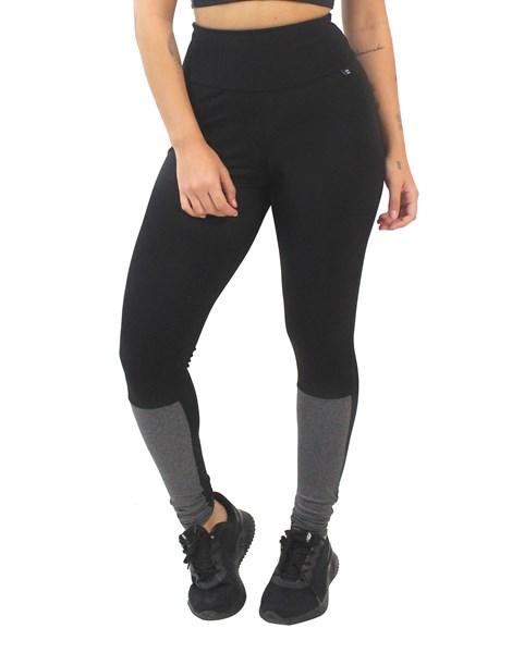 Calça Legging Preto com Mescla REF: LX174
