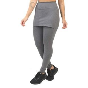 Calça Saia Legging Fitness Mescla REF: LX168