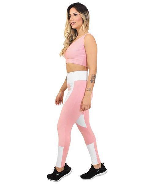 Conjunto Calça Legging e Cropped CandyPower REF: LX30