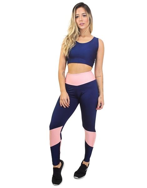Conjunto Calça Legging e Cropped Hot&Serious REF: LX19