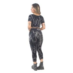 Conjunto Cropped e Calça Tie Dye REF: VSC3