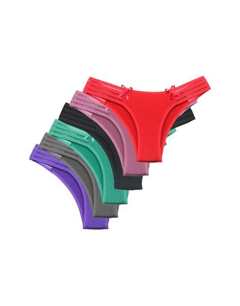 Kit 10 Calcinhas  Tangas Microfibra Confortável REF: CLC08