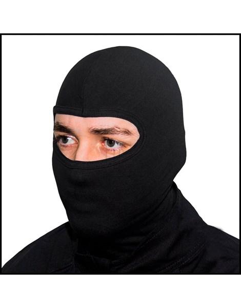 Kit 5 Balaclavas Motoqueiro Motoboy Preta Touca Ninja REF: PMBC01