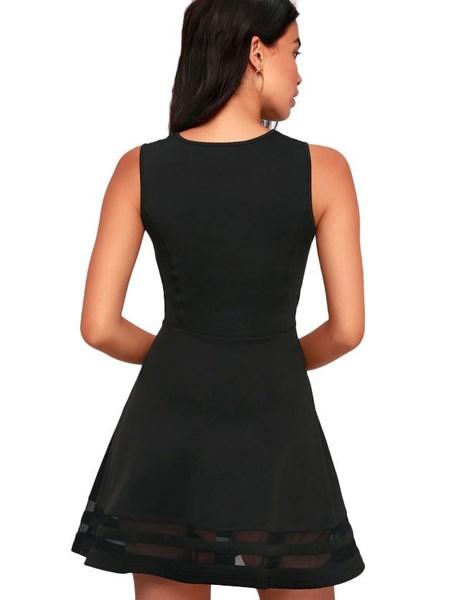 Vestido Feminino com Tule e Godê REF: VRP262