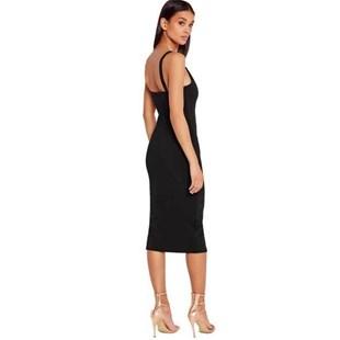 Vestido Feminino  Curto Alcinha com Fenda  REF: VRP276