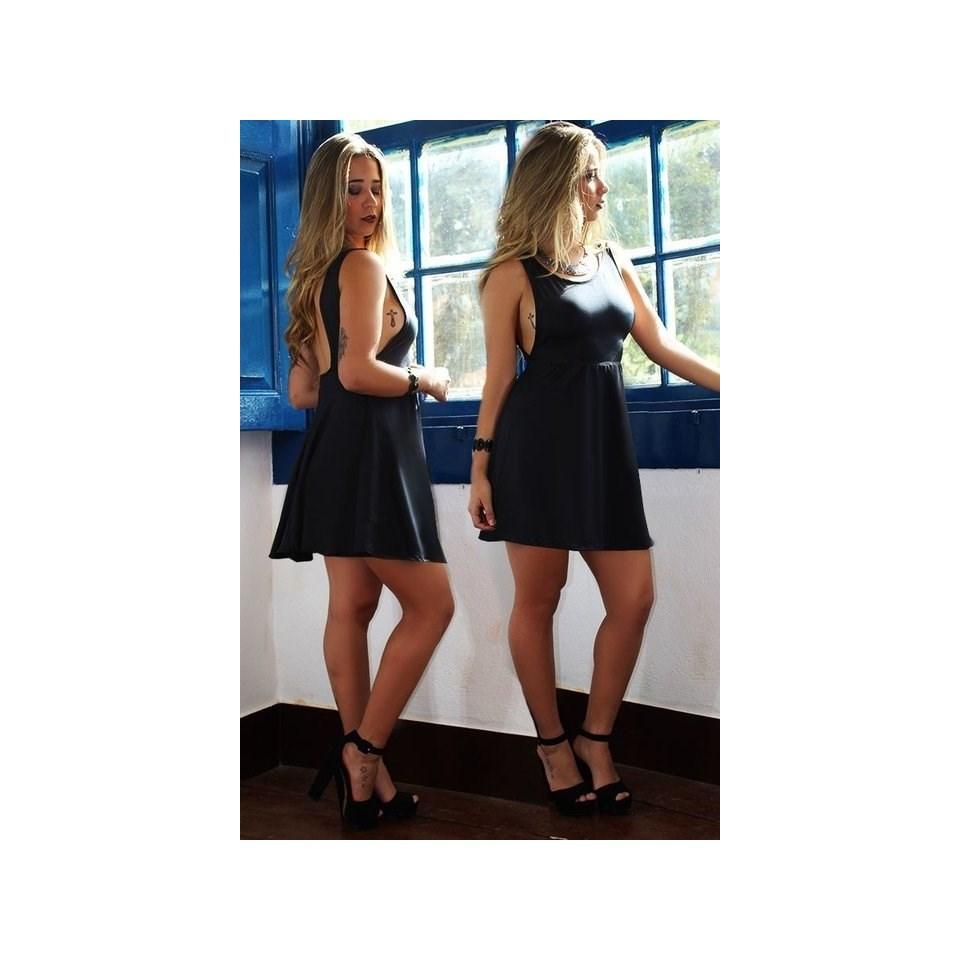 Vestido Feminino Curto Costa Nua REF: V0002