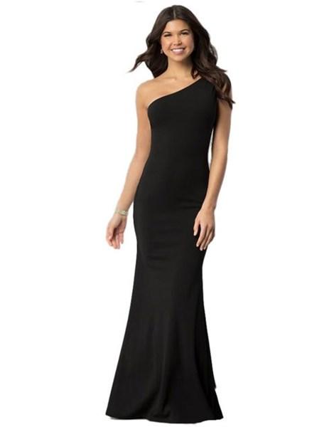 Vestido Feminino Longo Com Uma Alça Um Ombro Nú  REF: VRP38