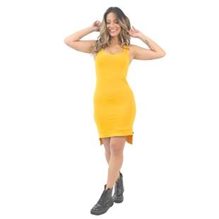 Vestido Feminino Regata Amarelo REF: VSC6