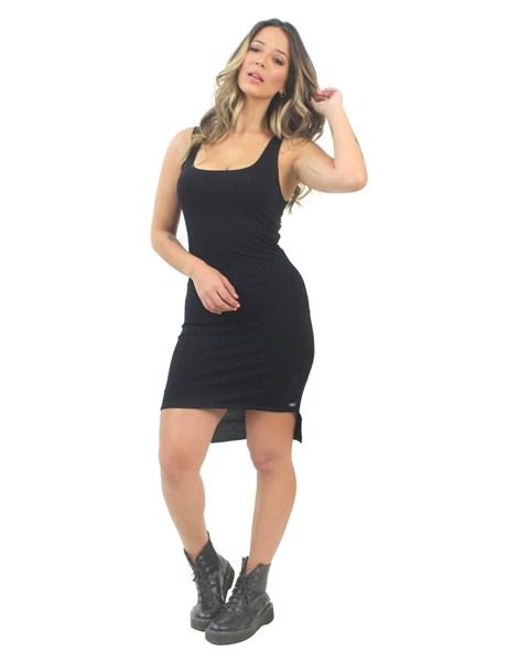 Vestido Feminino Regata Preto REF: VSC7