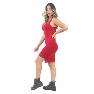 Vestido Feminino Regata Vermelho REF: VSC5