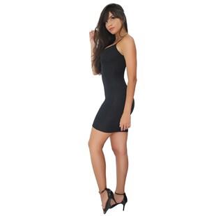 Vestido Feminino Tubinho com Alcinha Canelado REF: VRP340