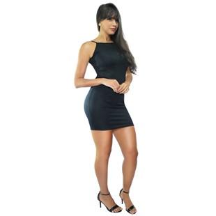 Vestido Feminino Tubinho com Alcinha e Costas Nua REF: VRP335