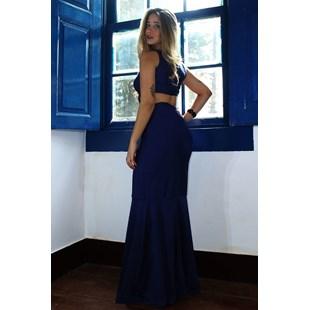 Vestido Longo Regata Rabo de Sereia Costa Nua REF: L0003