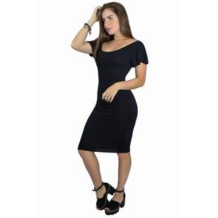 Vestido Social Manguinha Solta REF: V00212