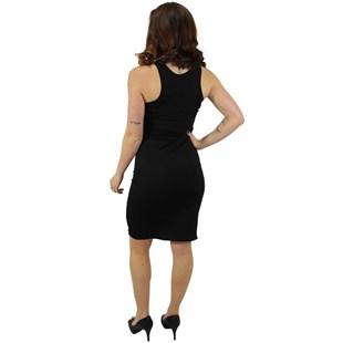 Vestido Social Saia Midi Gola Alta REF: V0055